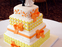 Orange-and-Yellow-Wedding-Cake