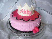 Pink-Princess-Crown-Cake