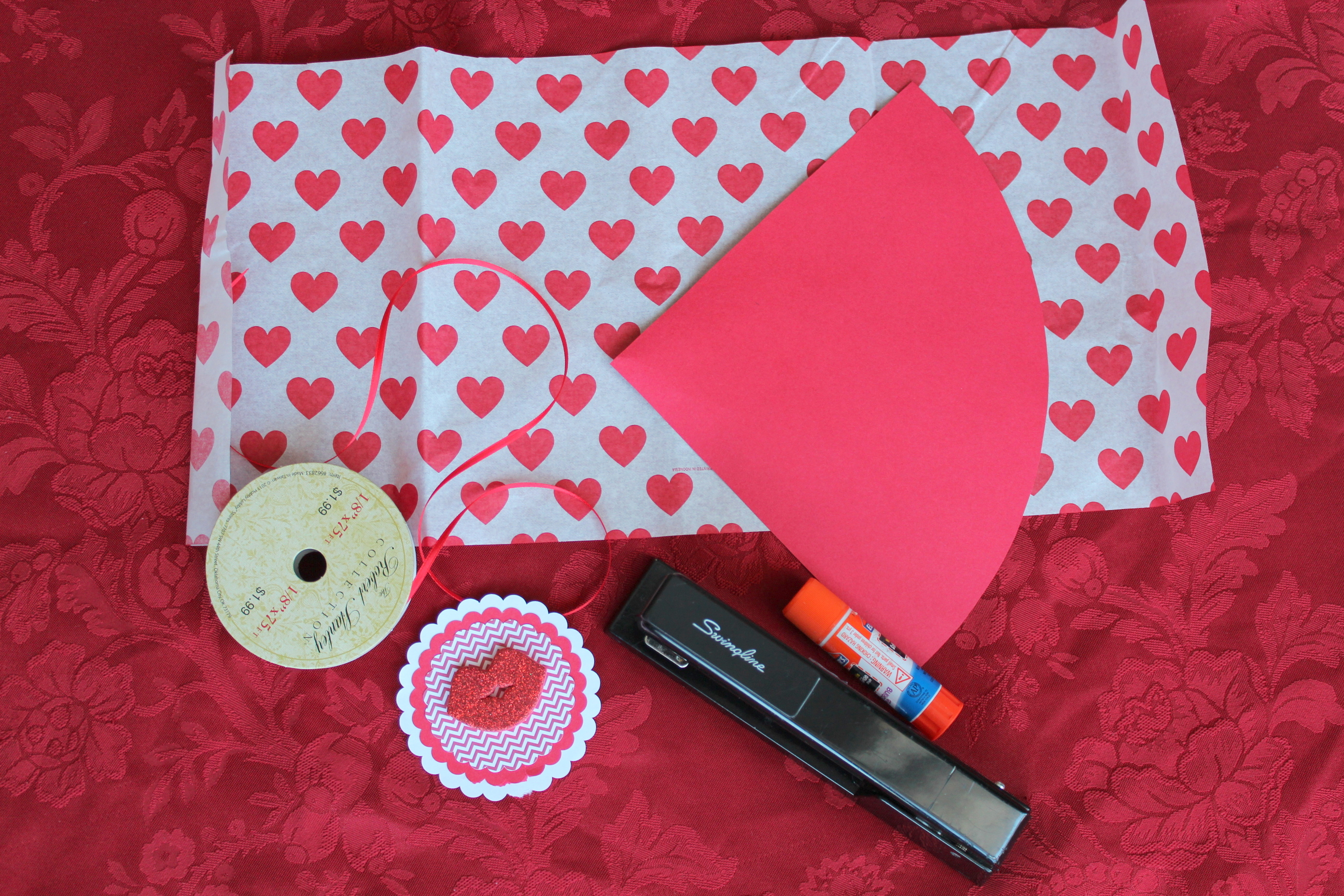 Lollydot How To Make A Paper Cone For Gift Wrapping Lollydot