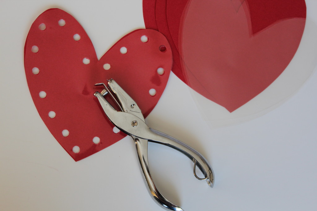 Hole Punch Hearts